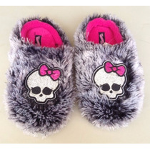 Pantufla De Personajes, Monster High, Angry Birds