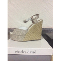 Envío Grat Sandalias Wedge Charles By Charles David 5.5 Mex.