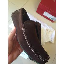 Zapatos Salvatore Ferragamo Nuevos Café Chocolate No Gucci