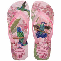 Havaianas Sandalia Para Mujer Colibrí Rosa
