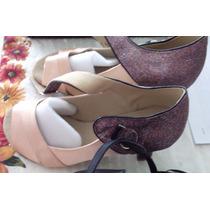 Zapato Bailar Ritmos Latinos, Color Rosavioleta,22cm,$800