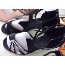 Zapato Para Bailar Ritmos Latinos, Color Negro, $850