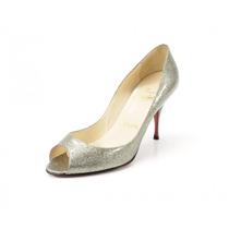 Zapatos Plateados Christian Louboutin