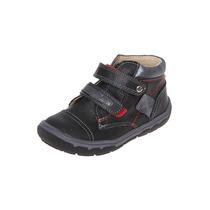 Mickey - Bota Con Doble Velcro - Negro - 5663-02