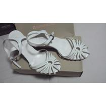 Naturalizer, Zapatos Blancos 7.5 Americano