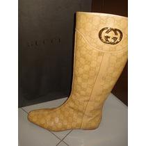 Botas Para Dama Gucci Color Miel D Abeja