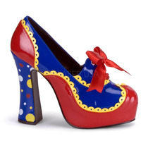 Zapatillas Tipo Payasita Cosplay Halloween Circus-25
