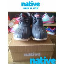 Remate De Zapatos Native #30 Color Gris Ultimo Par
