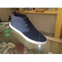 Zapato Ozono Azul Agujeta