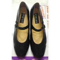 Zapatos Dama Danza Folklorica Regional 6mx Pirs Como Nuevos