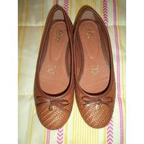 Zapatos D Piso Flexi 100% Originales 4 Mx Cafe Nuevos C/caja