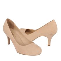 Perugia Zapatos Dama Tacones 75015 Gamuza Nude