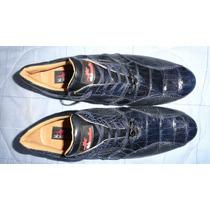 Zapatos Slickexotic Piel Lagarto Seminuevos 10mex Boss Ofert