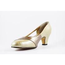 Zapato David Corsaro Piel Silken Tacón #4 Modelo 476