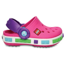 Crocs Lego Originales Zapatos Para Niña Color Rosa Amyglo
