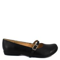 Zapato Escolar Negro Piel Cómodos Num 23 1/2 Mexicano Casual