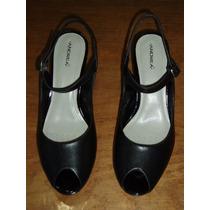 Zapatillas Marca Andrea Color Negro Numero 25 Nuevas