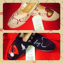 Toms Personalizados Zapatos Alpargatas
