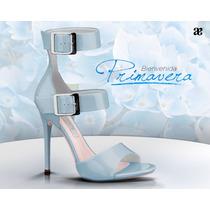 Zapatillas Zapatos Sandalias Andrea Primavera 2015 Azules