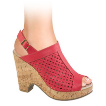 Zapatillas Dama Corte Piel Vaqueta 11cms 141651 Sn1