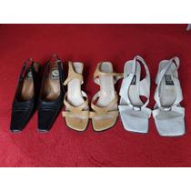 Lote De Zapatos Para Dama Del N 3