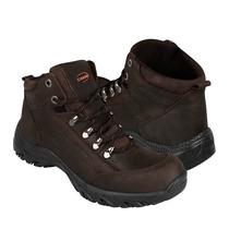 Caribu Zapatos Caballero Botas 646 Nobuck Cafe