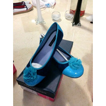 Zapato Tommy Hilfiger Danielle Azul Nuevos Tallas De 20 A 23