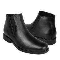 Gran Emyco Zapatos Caballero Botas Eg-3090 Piel Negro