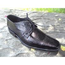 Zapato De Vestir Exótico De Piel De Armadillo