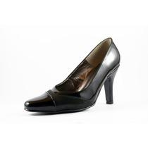 Zapato David Corsaro Piel Charol Negro Modelo 260-48d