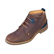 Zapato Bota Casual, Mocasin, Schatz Sport 5302 Cafe