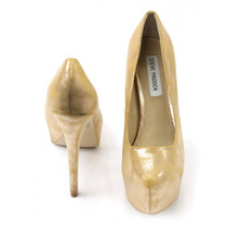 Zapatos Dorados Steve Madden