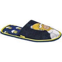 Pantunflas Peluche Los Simpson Calientes Originales Nuevo