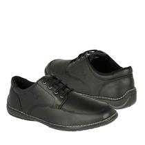Cliff Zapatos Caballero Casuales 2100 Piel Negro