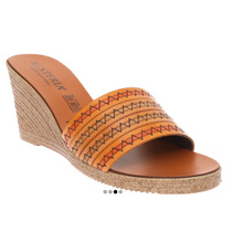 Sandalias Wedge Casual Tacon Mediano Plataforma Tribal Etnio