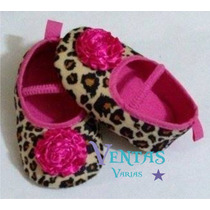 Zapatos Bebe Niña Niño Zapatito Animal Print Princesa