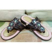 Primorosas Sandalias No. 16 Para Niña, Cómodas Y A La Moda