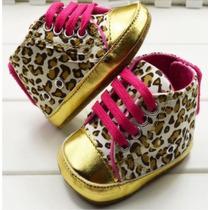 Zapato Bebe Niña Zapatito Tenis Animal Print