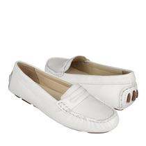 Flexi Zapatos Dama Piso 21902 Piel Blanco