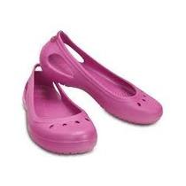 Crocs Kadee Flat Planos Originales Zapato Importado Sandalia