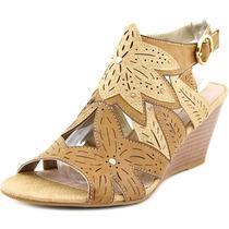 Xoxo Sáhara Peep Toe Sandalias De Cuña Zapatos