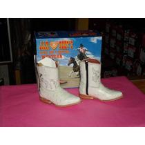 Bota Avestruz Hueso Puntal Bebes Jar-boots