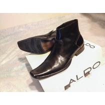 Zapatos Caballero Tipo Botín Marca Aldo Como Nuevos!