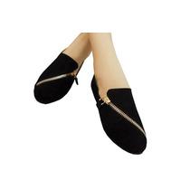 Flats De Gamuza Calzado Para Dama