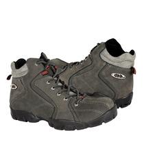 Caribu Zapatos Caballero Botas 900 Nobuck Gris
