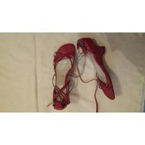 Zapatillas Zapatos Sandalias Calzado Para Dama #7 Rojos