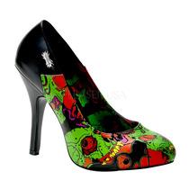 Zapatillas Estampadas Marca Demonia Zombie-04