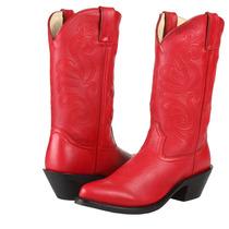 Durango Mujeres Salvaje Rojo Completo Grano Boot Rd4105