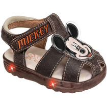 Sandalia Infantil Marca Mickey 68229 Sn2