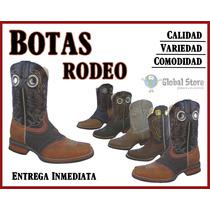 Botas Vaqueras Tipo Rodeo Western Cowboy Varios Modelos